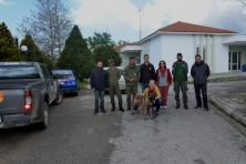Kiko with the employers of Delta Evros Management Body