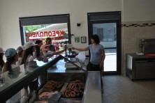 At butcher shop (L.Kapsalis/WWF)