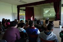 Presentation in Tychero highscholl (WWF Greece)