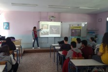 Presentation in Soufli highschool (WWF Greece)