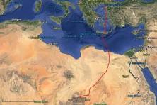 Paschalis migation route