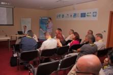 Facilitation of the meeting by B. Barov (BirdLife International)