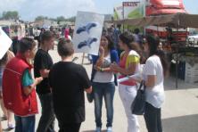 Η λαϊκή αγορά του Σουφλίου γέμισε εκείνη τη μέρα ασπροπάρηδες (WWF Ελλάς)