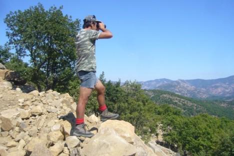 Ο φύλακας της φωλιάς του ασπροπάρη στην ΒΑ Ελλάδα/WWF