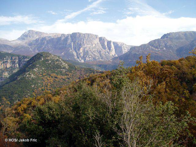 SPA Central Zagori & eastern part of Mount Mitsikeli (HOS/J. Fric)