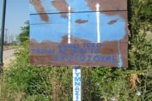 Signboard in Iamsos-Kompsatos (WWF)
