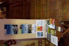 Leaflets, posters on the poisoned baits from Greek LIFE projects (Dadia Management Body)