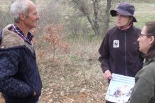 Meeting with local farmers in Greece