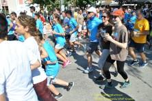 Οι «ανήλικοι Ασπροπάρηδες» στη διαδρομή των 5 χλμ. (Λ. Καψάλης/WWF Ελλάς)