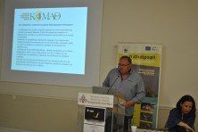 Representative from Hunting Federation of Macedonia and Thrace (WWF/Ε.Vazaiou)