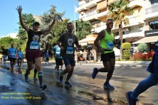 Οι «ενήλικοι Ασπροπάρηδες» στη διαδρομή των 10 χλμ. (Λ. Καψάλης/WWF Ελλάς)