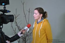 Media coverage of presentation in Alexandroupolis (WWF/L.Kapsalis)