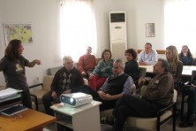 Presentation in Komotini (Forest Service & Regional Directorate of Environment)