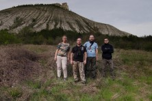 Monitoring of Egyptian vultures by BSPB in northeastern Bulgaria, 2017, © Maria Krumova