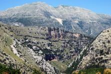 SPA Tsamanta, Filiaton, Farmakovouni and Megali Rachi mountains (HOS/A. Evangelidis)