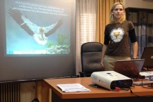 Presentation in Alexandroupolis Forest Service