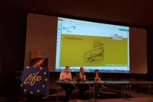 The Egyptian Vulture new LIFE project took part in Eyes on the Flyway Conference