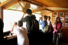 The students from Iasmos at Dadias Observatory (WWF)
