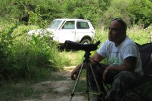 Nest guarding of Egyptian vultures in Bulgaria - season 2012