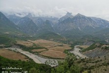 Southern Albania landscape