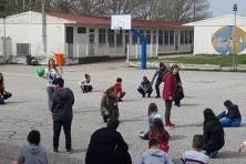 Game for threatened species in Sapes elementary school (WWF Greece)