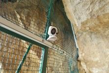 Инсталиране на камера за наблюдение (сн. И. Клисуров / Зелени Балкани)