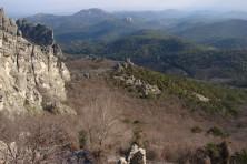 Rocky nesting habitats in Dadia National Park (WWF/P.Babakas)