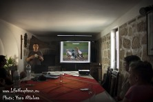 Presentation for the Egyptian Vulture at Lomea 2014