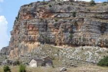 Egyptian Vultute nesting habitat in Albania