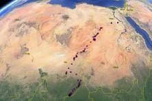 The migration route of Iliaz