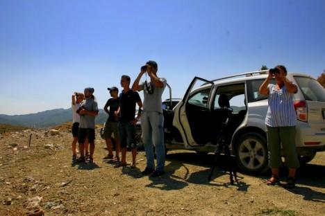 Наблюдение на сметище в Албания (БДЗП/С.Николов)
