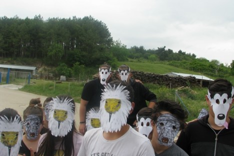 Activities with students from Soufli (WWF/E. Kret)